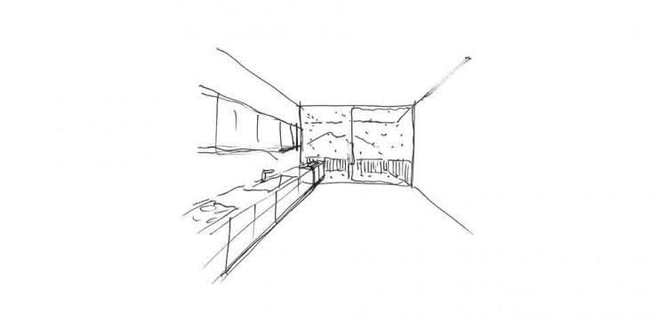 Casa M Studio Architetti schizzi progettuali
