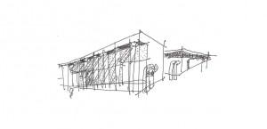 Silvian Heach Headquartier Studio Architetti Schizzi Progettuali